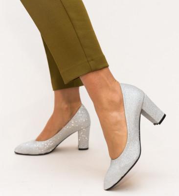 Pantofi Orion Arginti