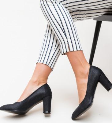 Pantofi Orion Negri