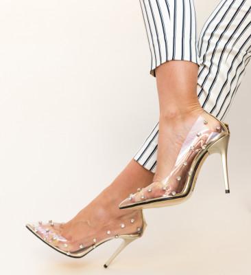Pantofi Sabin Aurii