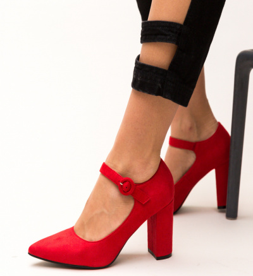 Pantofi Sana Rosii