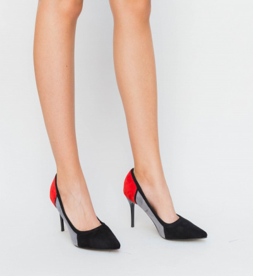 Pantofi Semi Negri