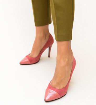Pantofi Silas Roz