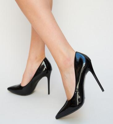 Pantofi Simma Negri