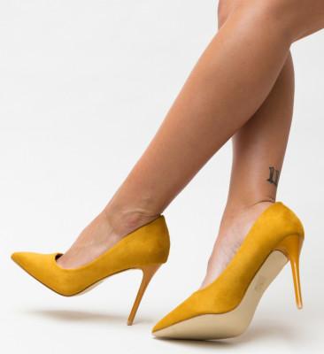 Pantofi Sline Galbeni