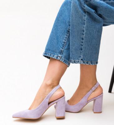 Pantofi Snider Mov