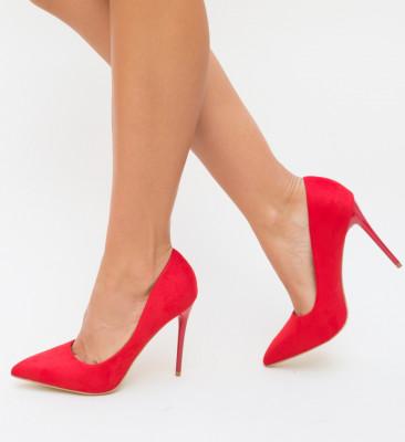 Pantofi Spiro Rosii