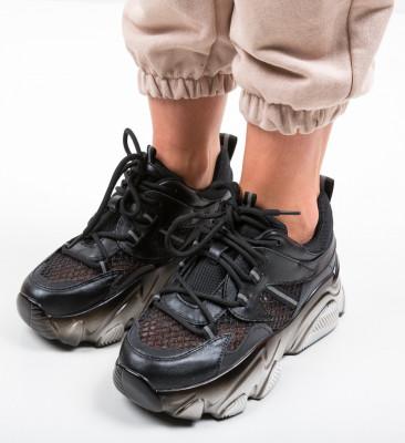 Pantofi Sport Cobras Negri