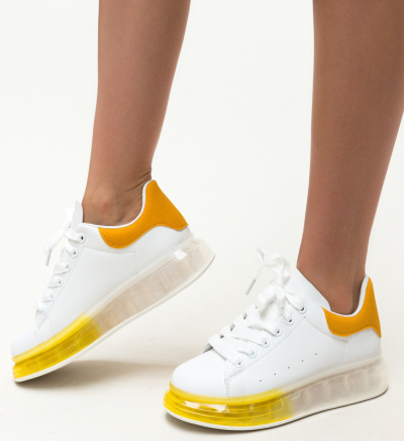 Pantofi Sport Company Galbeni
