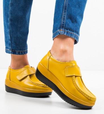 Pantofi Sport Cristophe Galbeni
