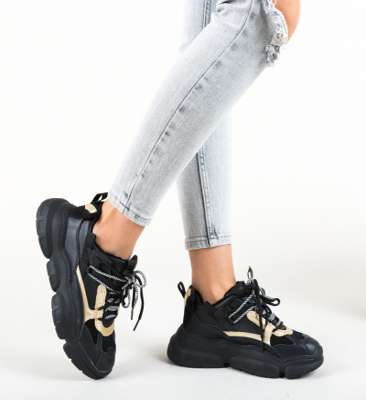 Pantofi Sport Drunc Negri