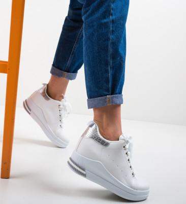 Pantofi Sport Frey Argintii