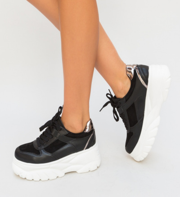 Pantofi Sport Huskar Negri