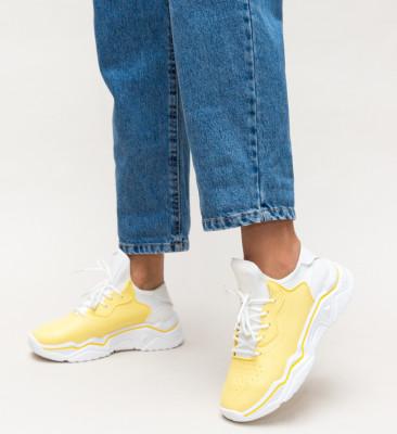 Pantofi Sport Liyana Galbeni