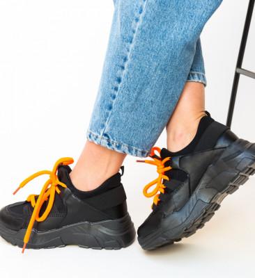 Pantofi Sport Paleto Negri