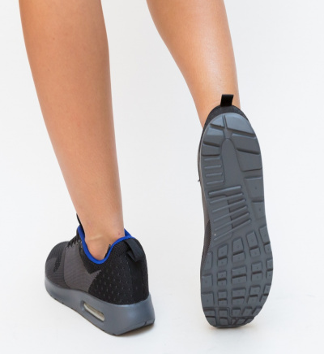 Pantofi Sport Slardar Negri 3