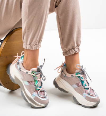 Pantofi Sport Teras Roz