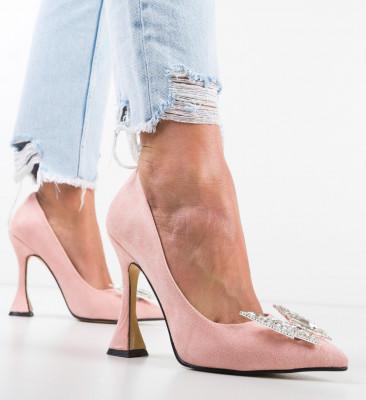 Pantofi Stelizaza Roz