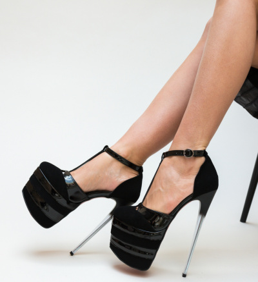 Pantofi Thing Negri