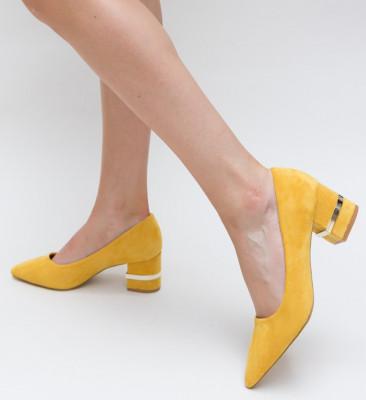 Pantofi Topka Galbeni