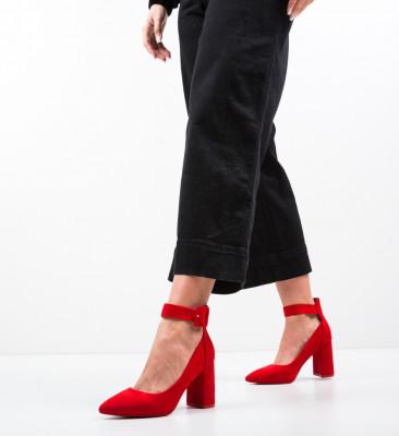 Pantofi Zaina Rosii