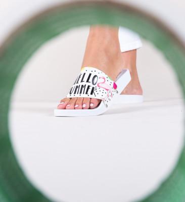 Papuci Flamingo Albi 2