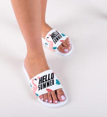 Papuci Flamingo Albi