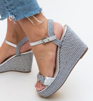 Sandale Aila Argintii