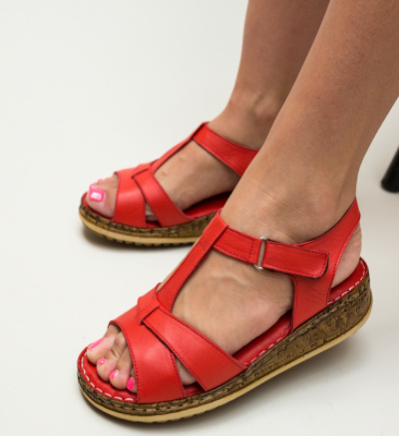 Sandale Ciocos Rosii