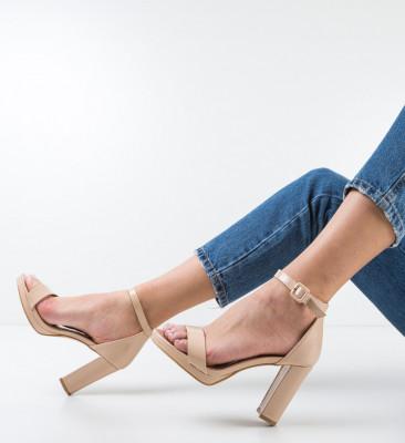 Sandale Deficie Bej 2