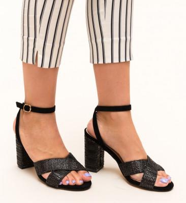 Sandale Deles Negre