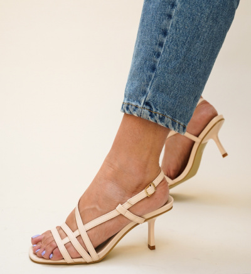 Sandale Flexo Bej