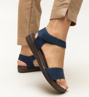 Sandale Gary Bleumarin