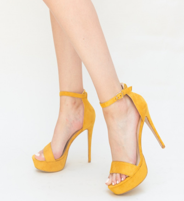 Sandale Imbre Galbene