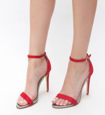 Sandale Lion Rosii