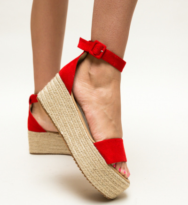 Sandale Meridam Rosii