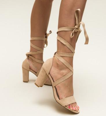 Sandale Percea Bej