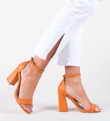 Sandale Pirelio Portocalii