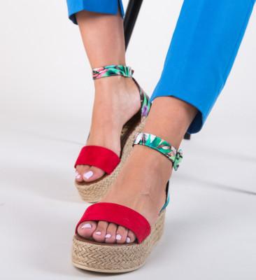 Sandale Saren Rosii