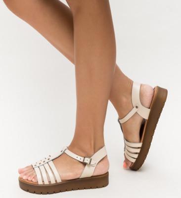 Sandale Suvio Bej