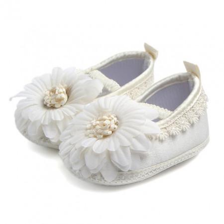 Pantofiori botez fetite - Margareta ivoire
