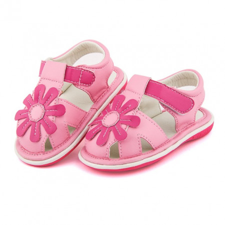 Pantofiori decupati roz - Margareta
