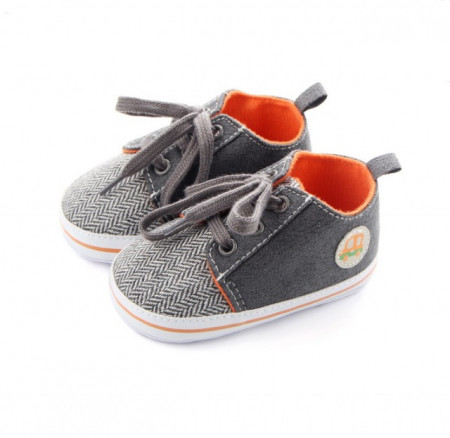 Pantofiori pentru baietei gri