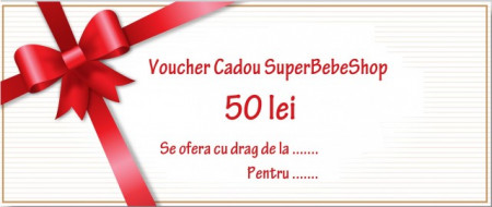 Voucher Cadou 50 lei