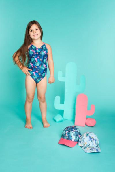 Costum de baie pentru fetite - Exotic