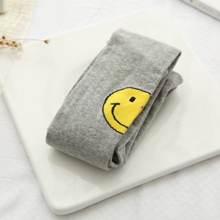 Dres gri din bumbac - Smiley