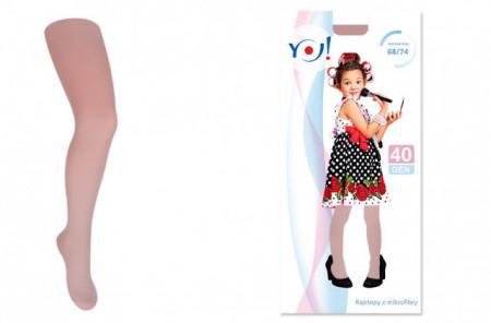 Dres subtire 40 den natural, culoarea piciorului- Dresuri fete