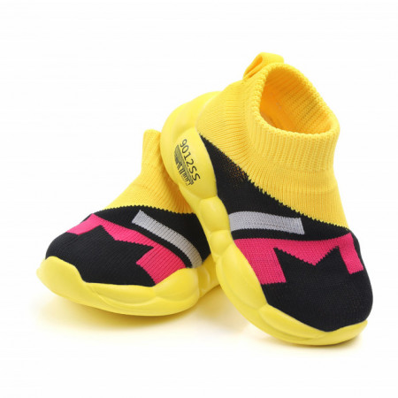 Mocasini multicolori tip adidas