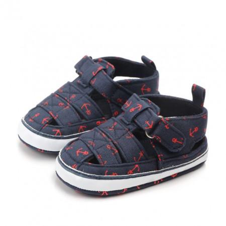 Pantofiori decupati bleumarine - Ancore