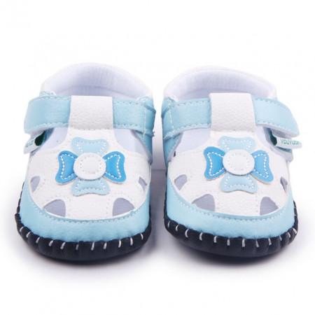 Pantofiori decupati - Floricica bleu