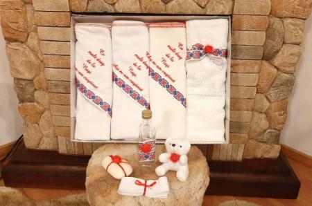 Trusou traditional botez pentru bebelusi